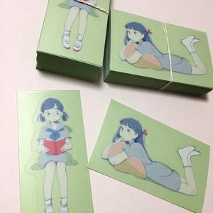 すけすけステッカー(花)