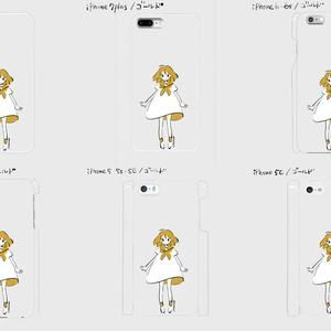 《受注生産》iphoneケース ゴールド