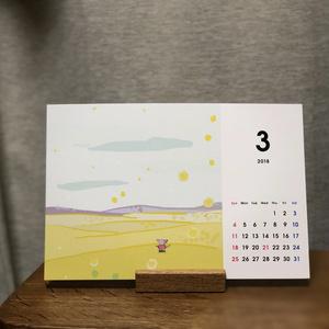 2018めばちカレンダー