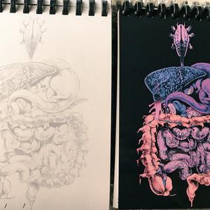 内臓怪獣メモ帳
