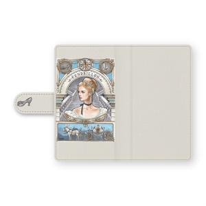 アンドロイド 手帳型ケース シンデレラ