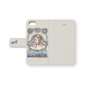 iPhone 手帳型ケース シンデレラ