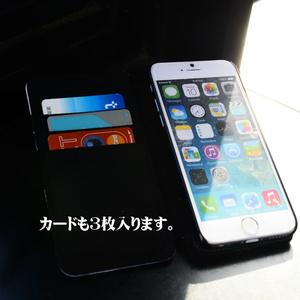 手帳型iPhoneケース「電」