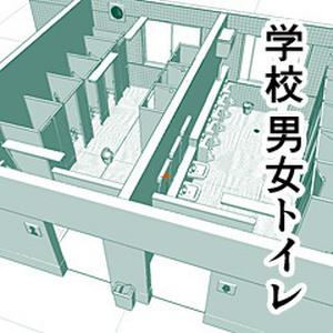 学校 男女トイレ ~三種の便器~