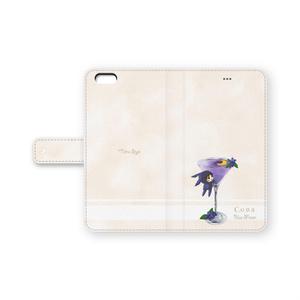 手帳型iPhone6Plusカバー カクテル・コナ
