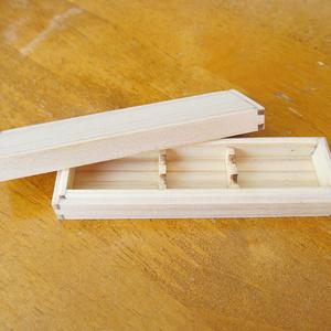 紙刀用桧箱