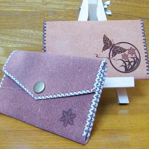 和柄カードケース「揚羽水仙」