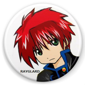 RAYGLARD / 缶バッチ&ブロマイド