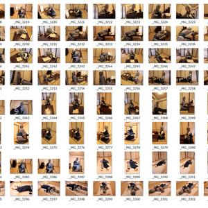 【DL版】トレスして漫画を描くために撮影したシンディのコスプレ写真素材集