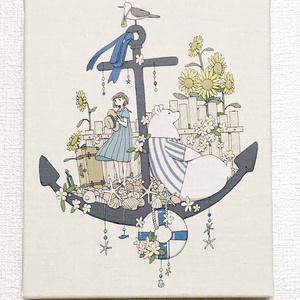「海を見に行こう」キャンバスプリント