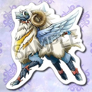 【あんしんBOOTHパック】羊ドラゴンステッカー