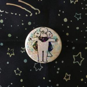 Badge: スタンディングナナ(ホログラム加工)
