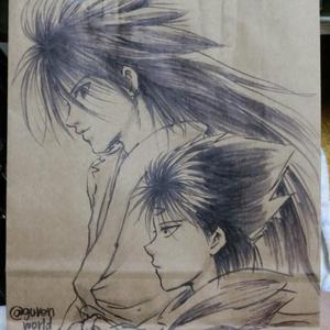 【幽白】手描き痛紙袋