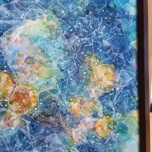 原画「光のsatellite」