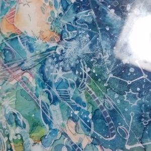 原画「小惑星航海図」