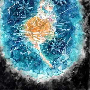 原画「午前2時の星の海」