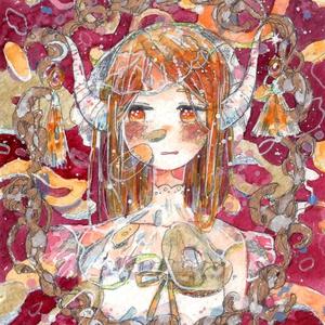 原画「金の輪」