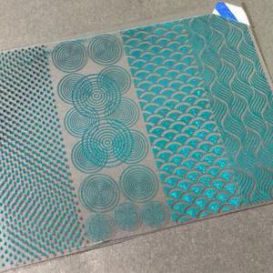 A7 一部B品 水紋スカイブルー