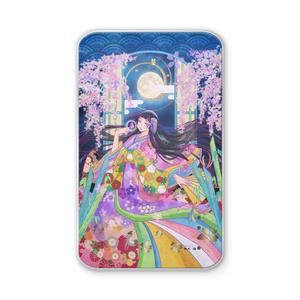 千年桜のかぐや姫 モバイルバッテリー