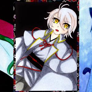 原画カード3種(刀剣乱舞)