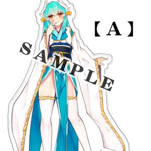 清姫アクリルキーホルダー【A】