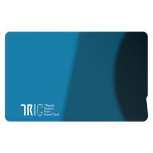 IC乗車券「TRIC」風シール