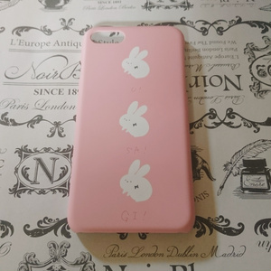(sold out)iPhone7ケース【うさぎ】