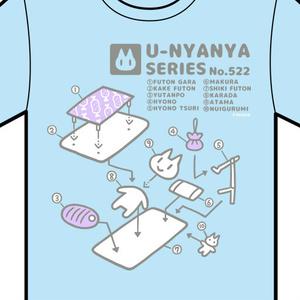 Tシャツ(頭汗足熱)