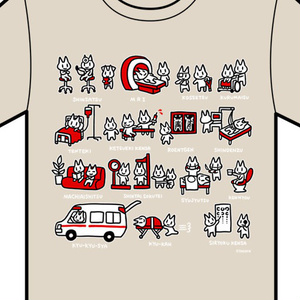 Tシャツ(病院)