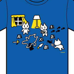 Tシャツ(現場検証)