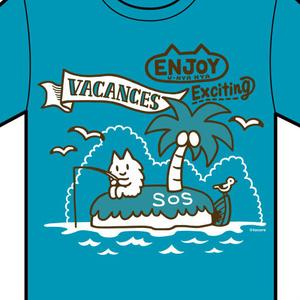 Tシャツ(バカンス)
