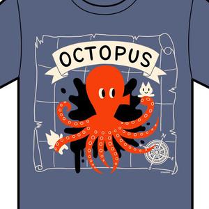 Tシャツ(オクトパス)