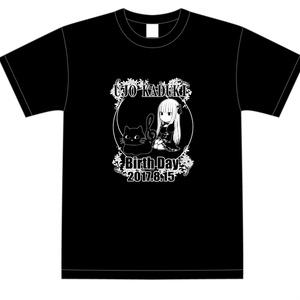 雨情華月 2017生誕Tシャツ