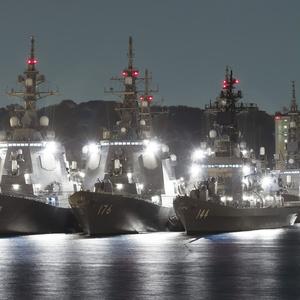 Yokosuka Fleets Night View 横須賀艦隊夜景