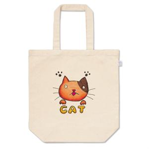 ぼんやり猫さんトートバッグ