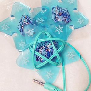 雪ミク Twinkle Snow Ver. イヤホンコードホルダー