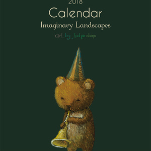 2018年カレンダー : Imaginary Landscapes