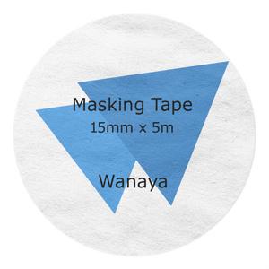 Wanayaマスキングテープ (MT-ZX7-1S)