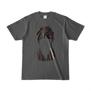 ハシビロコウ(3/5) 濃色Tシャツ