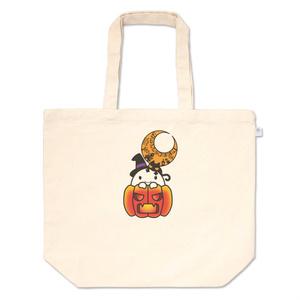 カボチャ畑のふわりん Pumpkin トートバッグ