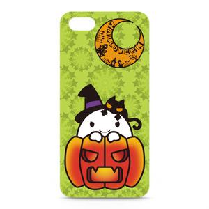 カボチャ畑のふわりん Pumpkin iPhoneケース