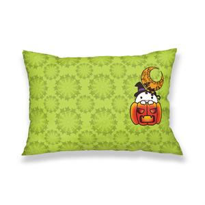 カボチャ畑のふわりん Pumpkin 枕カバー