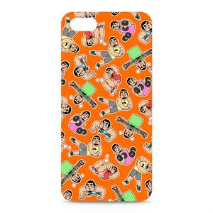 ひげおとめさんiPhoneケース(Orange)