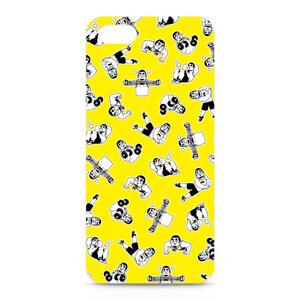 ひげおとめさんiPhoneケース(Yellow)