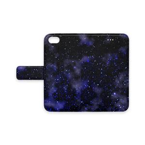 星の海 手帳型iPhoneケース - iPhone7