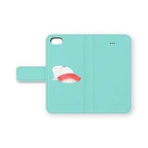 完全擬態うさぎ手帳型iPhoneケース