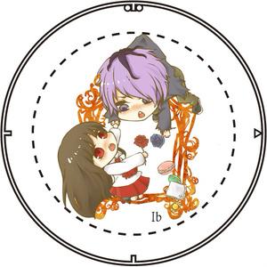 [Ib] イヴ&ギャリー 缶バッジ