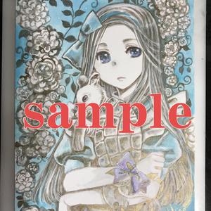 【イラスト原画】#032 Alice in Rose-6