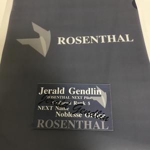リンクス名刺セット(ROSENTHAL社2種セット)
