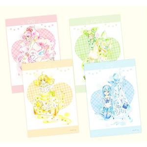 イラストカード「香水×女の子」
